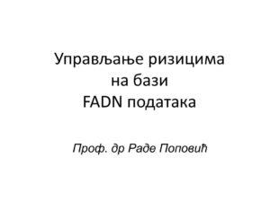 thumbnail of Upravljanje rizikom i neizvesnoscu – FADN – RP